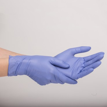 Powder-Free Nitrile Handgloves - 10 Boxes of 100's/Box