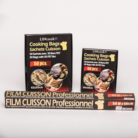 Lincook PET Cooking Bags