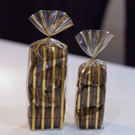 Bandalette Gold Cookie Bags