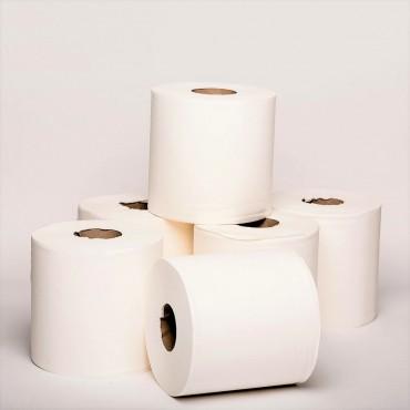 Hand Towel Center Pull - 1 Ply, 20 cm x 320M - 6 Rolls/Ctn
