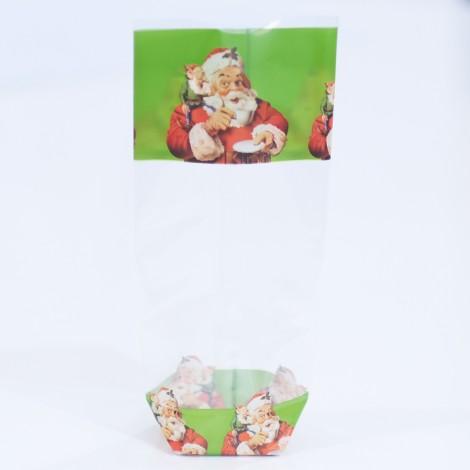 Santa Claus Cookie Bags - 100's/Box