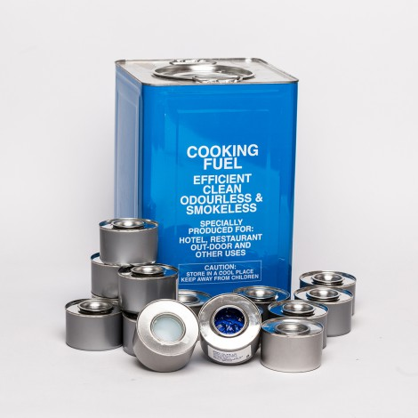 CANNED BLUE GEL FUEL – 72 CANS/CTN